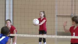 St. James 4th Grade Volleyball (Bronstrop) on 2/8/2014