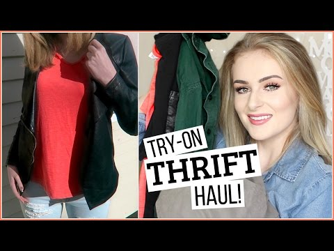 Xxx Mp4 THRIFT HAUL TRY ONS My Tips For Op Shopping 3gp Sex