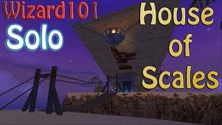 Wizard101: Solo Zigazag (Part 2 - House of Scales) Ice lvl 66