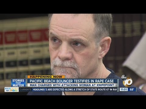 Pacific Beach bouncer testifies in rape case