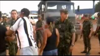 Exército entra em confronto com a Polícia Militar em Rondônia