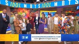 [FULL] BTS on Good Morning America   Jimin hug lil girl