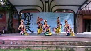 印尼巴里島民謠舞蹈 Tari Janger Bali kreasi