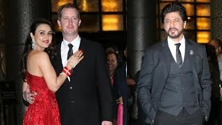 Preity Zinta Wedding Reception 2016 | Shahrukh Khan, Salman Khan, Shahid Kapoor
