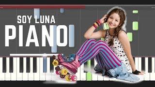 Soy Luna Profugos Piano midi tutorial sheet partitura Soda Stereo how to Play