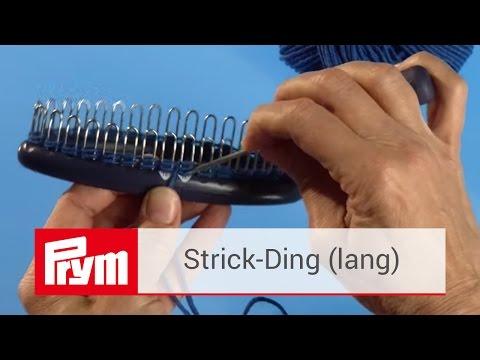 Das Prym Strick Ding Strick Tutorial mit der Strickhilfe von Prym