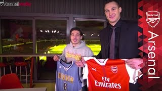 Neymar, Blake Griffin and Douglas Costa | When Bellerin met Danilo Gallinari
