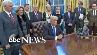 Trump Defends Refugee, Immigration Policy