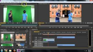 Adobe Premiere - How to Remove Green Screen (Chroma Key, Remove Background) Tutorial