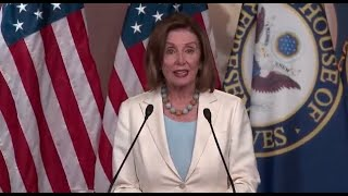 Watch live: Pelosi speaks to reporters after House condemns Trump's racist remarks