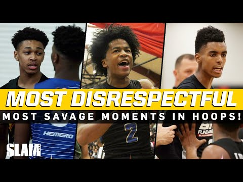 The MOST DISRESPECTFUL Moments in Basketball Sharife Cooper Jalen Green Dior Johnson & More