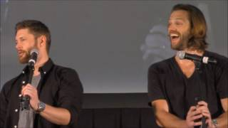 PittCon Jared Padalecki and Jensen Ackles GOLD FULL Panel 2016 Supernatural