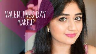 Valentines Day Makeup Tutorial | Fresh Pink Makeup | corallista