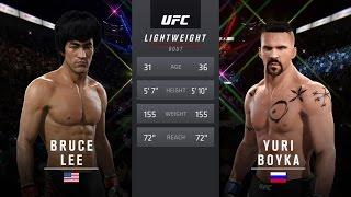 Bruce Lee Vs Yuri Boyka EA Sports UFC 2