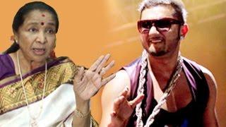 Asha Bhosle SHOCKING Comment on Yo Yo Honey Singh