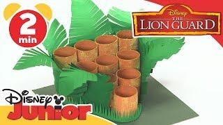 The Lion Guard | Tutorial: Pride lands Ball Game | Disney Junior UK