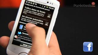 Celular Sony Ericsson Live con Walkman (Video Reseña)