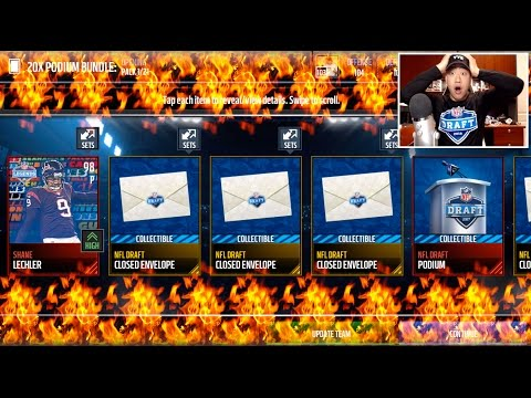2017 NFL DRAFT PROMO IS HERE WE PULL THE LEGEND 2x DRAFT BUNDLES MADDEN MOBILE 17