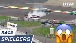 Spengler destroys Auer's Championship Dreams - DTM Spielberg 2017