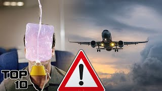 Top 10 Ways To Survive A Plane Crash