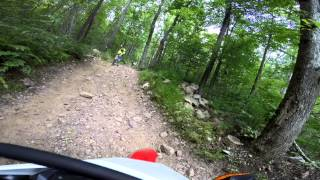 Peters Mill Run ATV Trail Via Motorcycle Full Movie CRF250L DRZ400