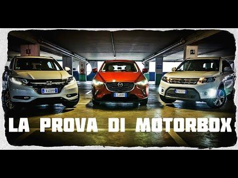 Honda HR V vs Mazda CX 3 vs Suzuki Vitara