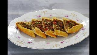 طرز تهیه پیده اصیل ترکیه ای، بسیار خوشمزه  | Turkish Original Pide Recipe - Eng Subs
