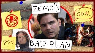 Bad Plan - Zemo in Captain America: Civil War