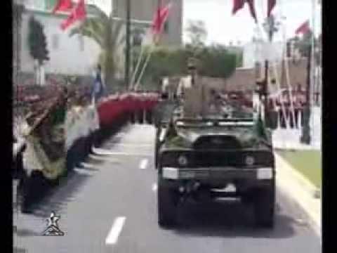 S.M. le Roi Mohammed VI chef suprême et chef détat major général des FAR