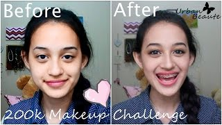 200k ( 20$ ) Makeup Challenge  + Mini Review | Nadya Aqilla | Indonesia