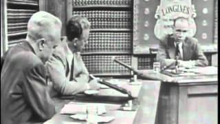 LONGINES CHRONOSCOPE WITH DR. CORLISS LAMONT