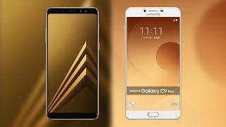 Samsung Galaxy A8 plus 2018 vs Galaxy C9 pro Comparison