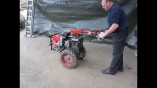 Einachser Eigenbau Hydraulikantrieb Hydraulik 1