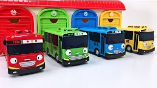 Tayo the Little Bus Teaching Colors for Kids - Learn Colours Tayo 타요 & Tomica Mountain Road Set トミカ
