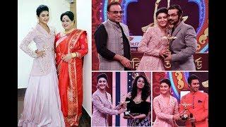 ভারতীয় শিল্পীদের হাতে কিসের পুরস্কার দিলেন জয়া আহাসান !! Jaya Ahasan giv award to Indian artists