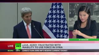 Kerry: 'I argued for use of force in Syria, and I've lost the argument'