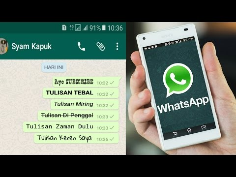 How To Create Unique Characters In Whatsapp