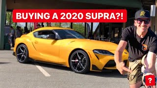 SURPRISING MY FRIEND WITH TWO 2020 TOYOTA SUPRA ALLOCATIONS!