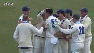 He's done it again! Starc takes second hat-trick