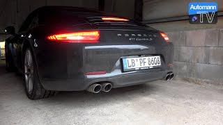 2015 Porsche 991 Carrera S (400hp) - pure SOUND (60FPS)