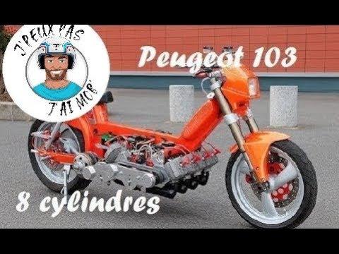 Peugeot 103 Diabolique 8 Cylindres 400 cm3