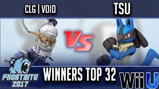 Frostbite 2017 WINNERS TOP 32 - CLG | VoiD (Sheik) vs tsu (Lucario)