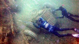 Plongée dans l'Histoire... 70 ans après le D-Day !