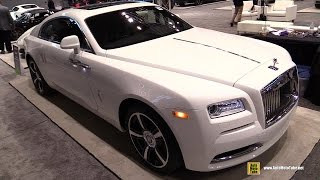 2016 Rolls Royce Wraith - Exterior and Interior Walkaround - 2016 Chicago Auto Show
