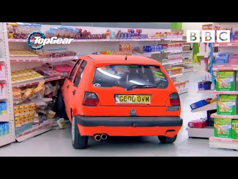 Richard Hammond and team play Supermarket Sweep in Hatchbacks Top Gear Series 21 Episode 1 BBC