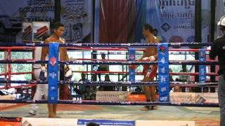 Traditional Khmer Boxing in Phnom Penh Cambodia