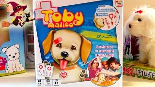 Toby malito | Clínica veterinaria de juguete