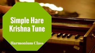 Simple Hare Krishna Tune, Harmonium Class