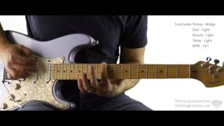 Snapback - Old Dominion - Guitar Lesson and Tutorial