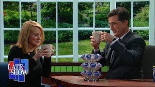 Laura Linney and Stephen Announce